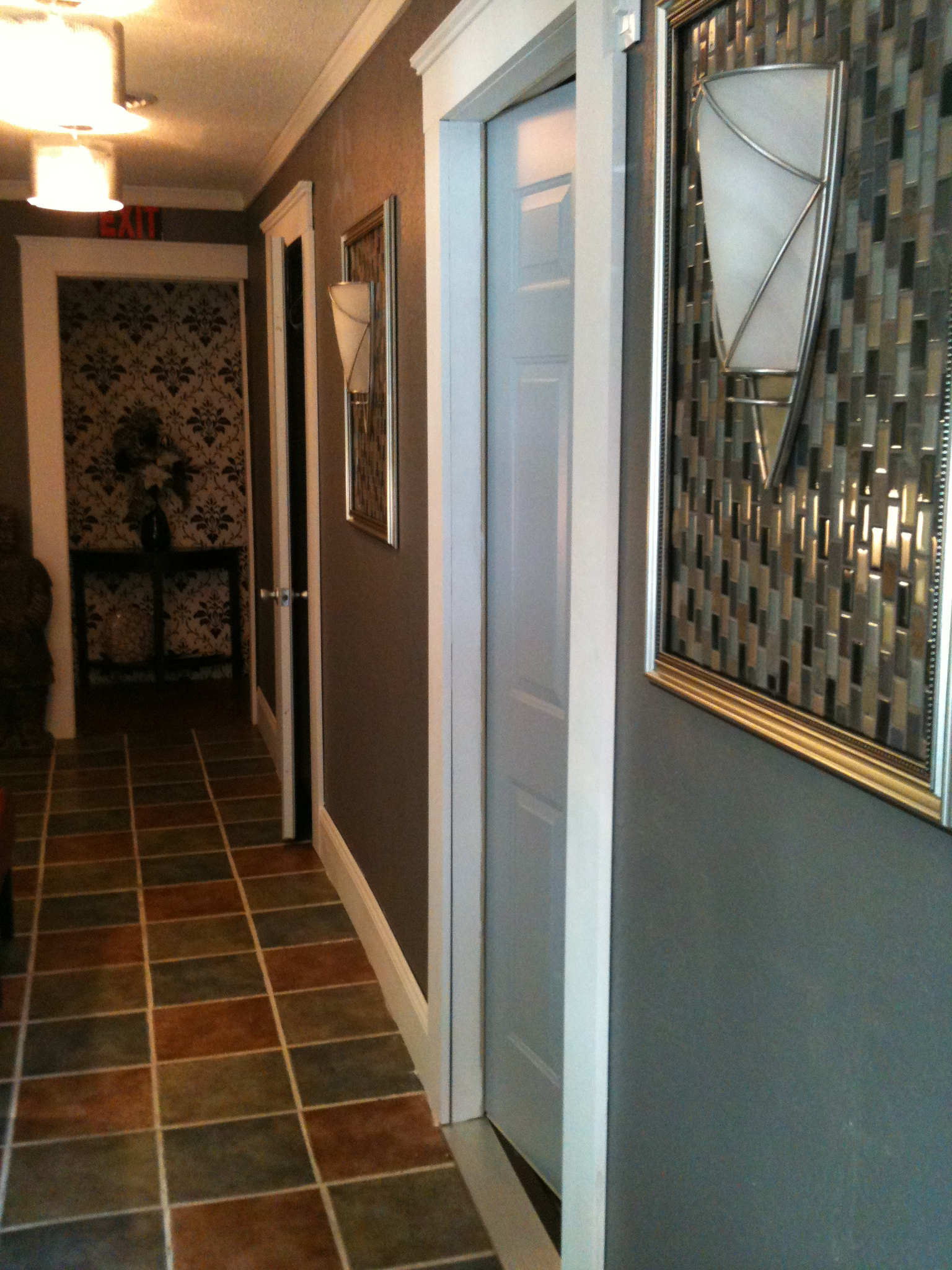 Hallway at Corepoint Spa